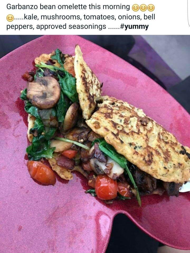Alkaline Vegan Garbanzo Bean Omelette With Dr Sebi Approved