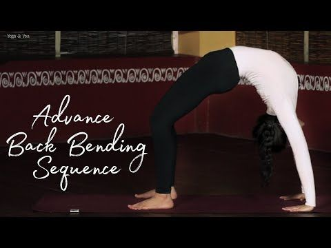 intermediate back bending workouts  youtube  yoga for