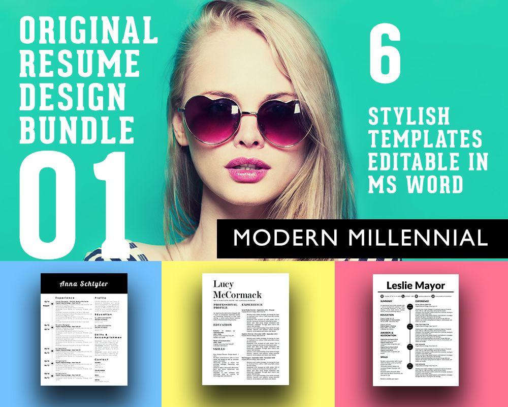 Young Entrepreneur Resume Design Templates For The Modern