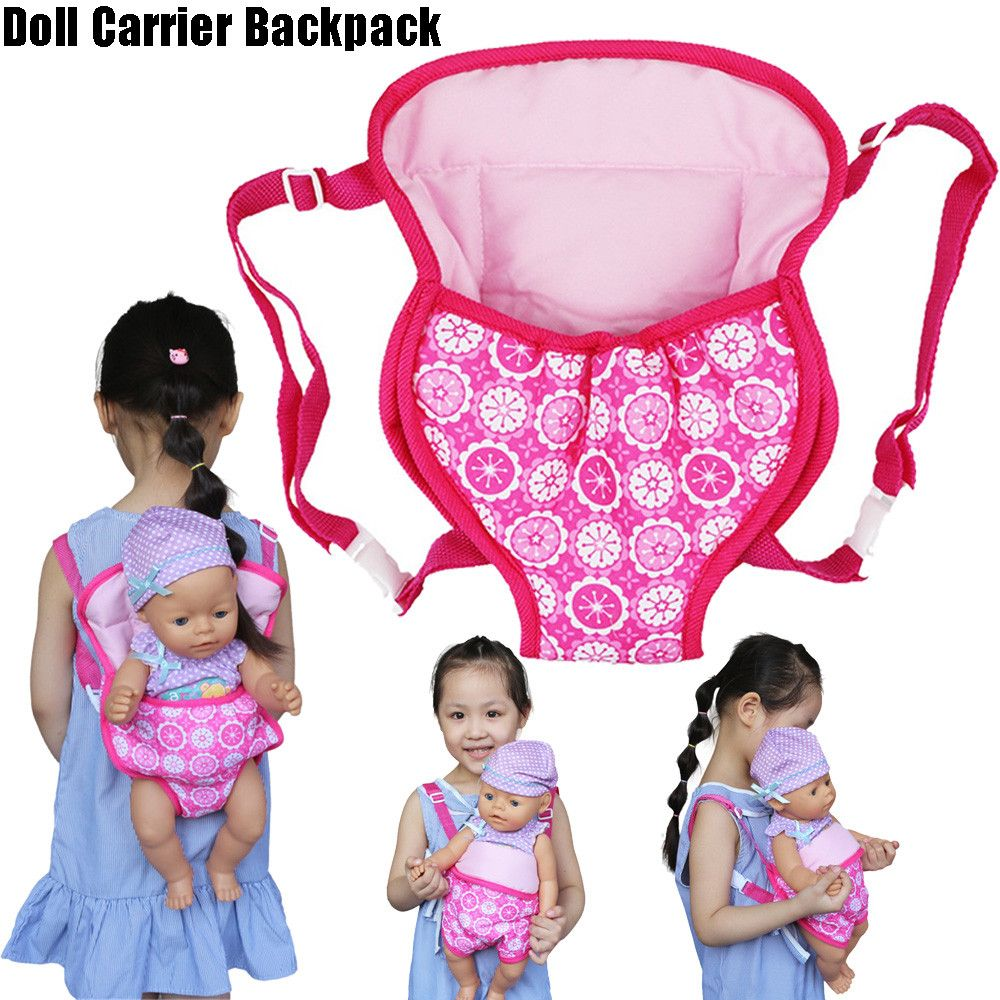 Pin By Maria De On Bonecos Toy In 2020 Baby Doll Carrier Doll Carrier Backpack Doll Carrier