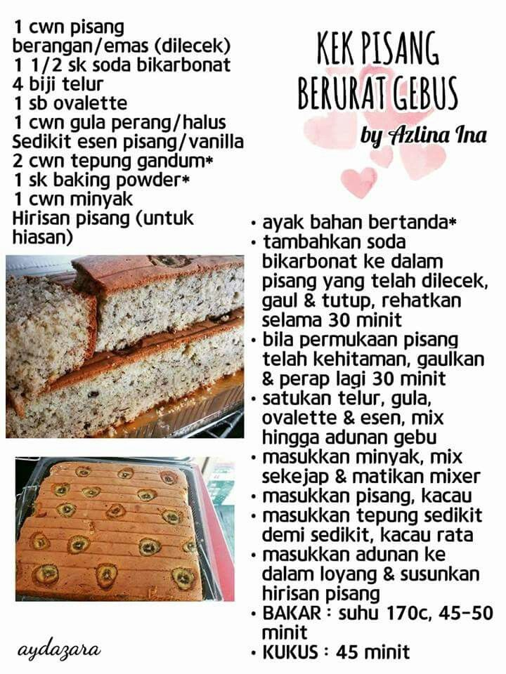 Pin By Mufidah Hayati On Mesti Cuba Cake Recipes Recipes Using Cake Mix Snack Cake