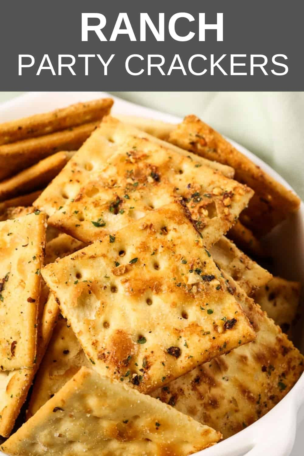Ranch Party Crackers Recipe