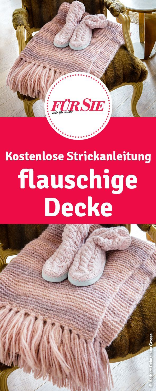Photo of Flauschige Decke selber angeschlagen