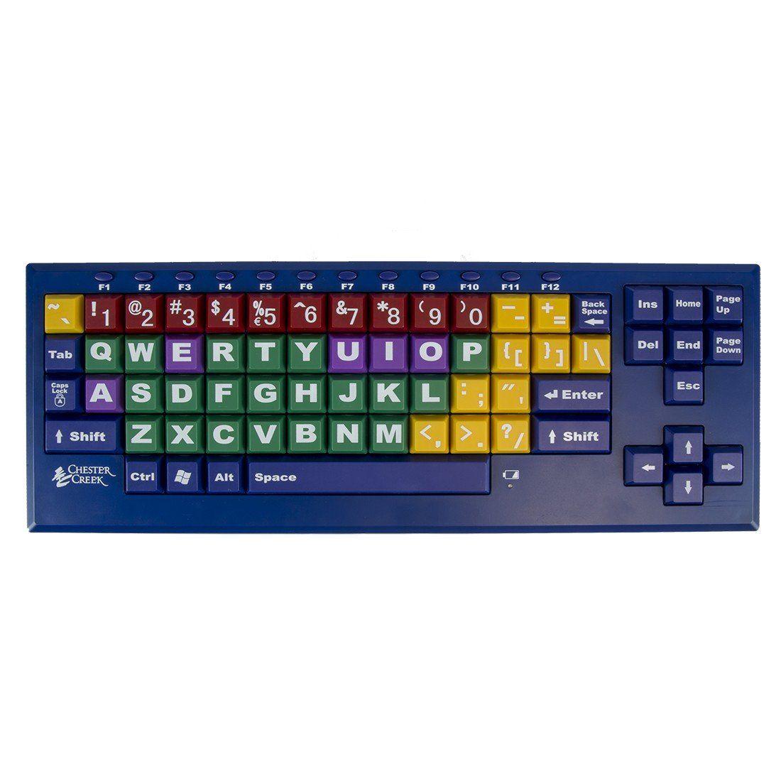 Bigblu kinderboard chromebook lettering computer keyboard