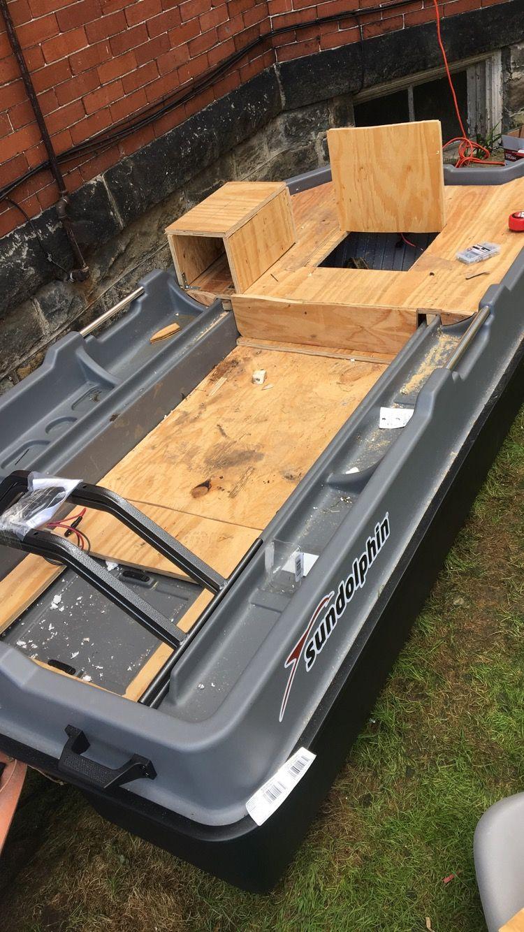 Sundolphin Sportsman Mods Bass Boat 2 Man Bass Boat Small Fishing Boats