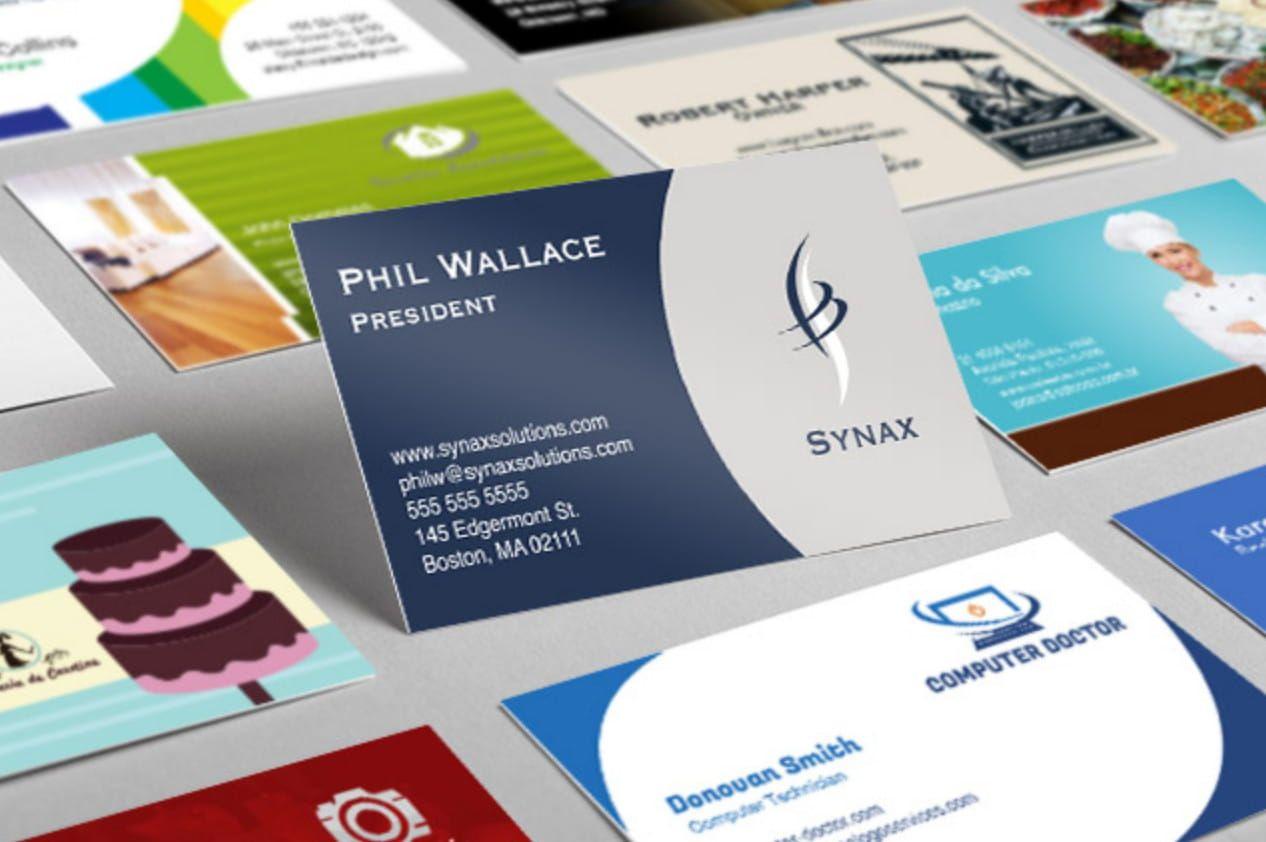 Mockups Free Business Card Templates Business Card Design Software Business Card Creator