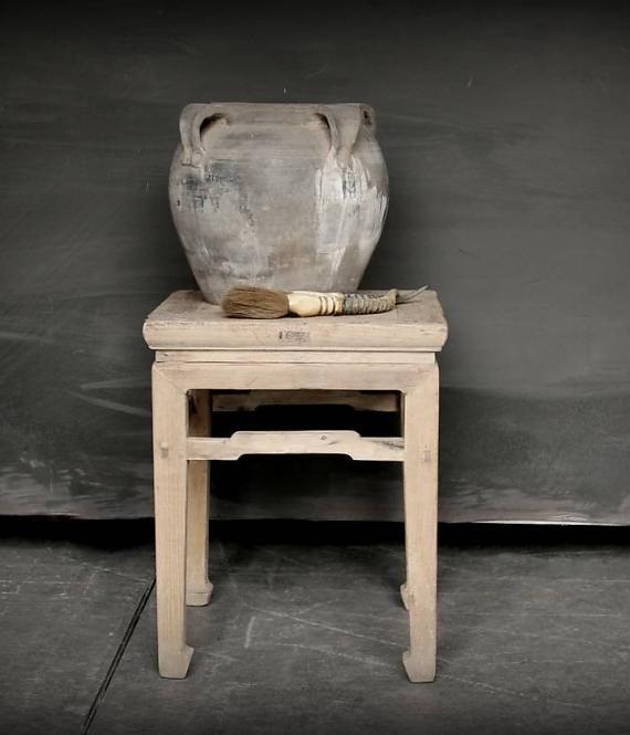 Klein Oud Tafeltje.Klein Oud Tafeltje Kruk Mooie Pot Bench Stool Old Wood
