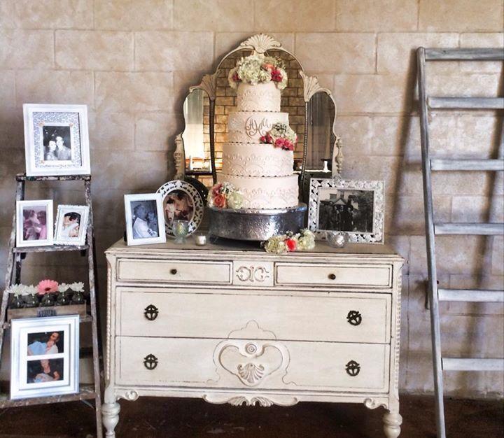 Barrington Hill Vintage Dresser Cake For Wedding