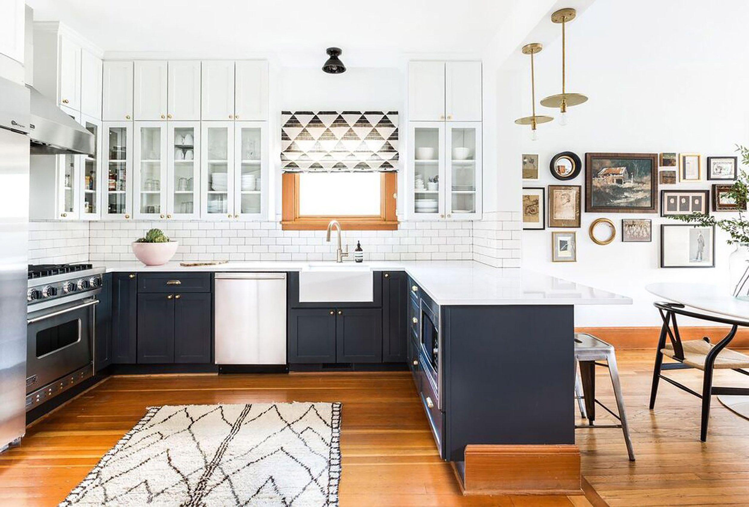 Kitchens With No Uppers Insanely Gorgeous Or Just Insane Emily Henderson Kitchen Renovation Trends Kitchen Cabinet Trends Outdoor Kitchen Cabinets