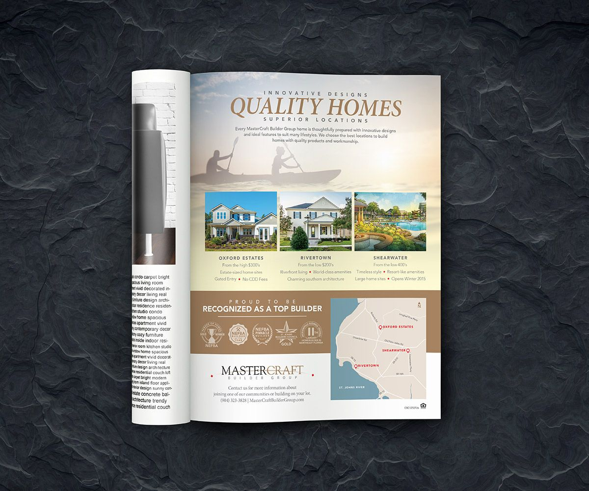Home Builder Print Advertisement