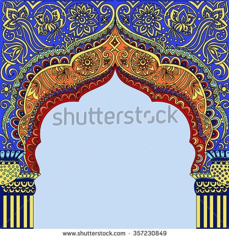 Image Result For Islamic Jharokha Border Indian Temple Architecture Indian Architecture Arch Architecture