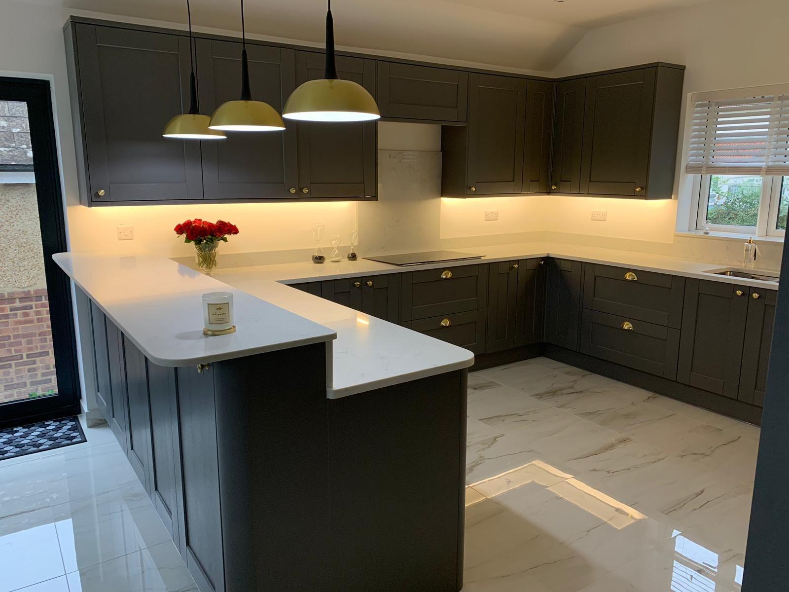 Carrara Quartz Worktops Quartz Worktops Carrara Quartz Home Kitchens
