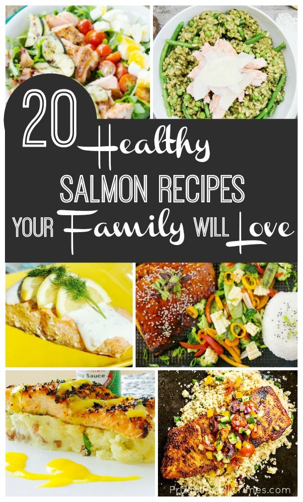 Salmon is one of the healthiest foods you can eat.  It is loaded with DHA for growing brains (and easing inflamation) and a great source of Vitamin D.  But it can be hard to get picky eater kids to try it.  These recipes may be the trick to get your famil
