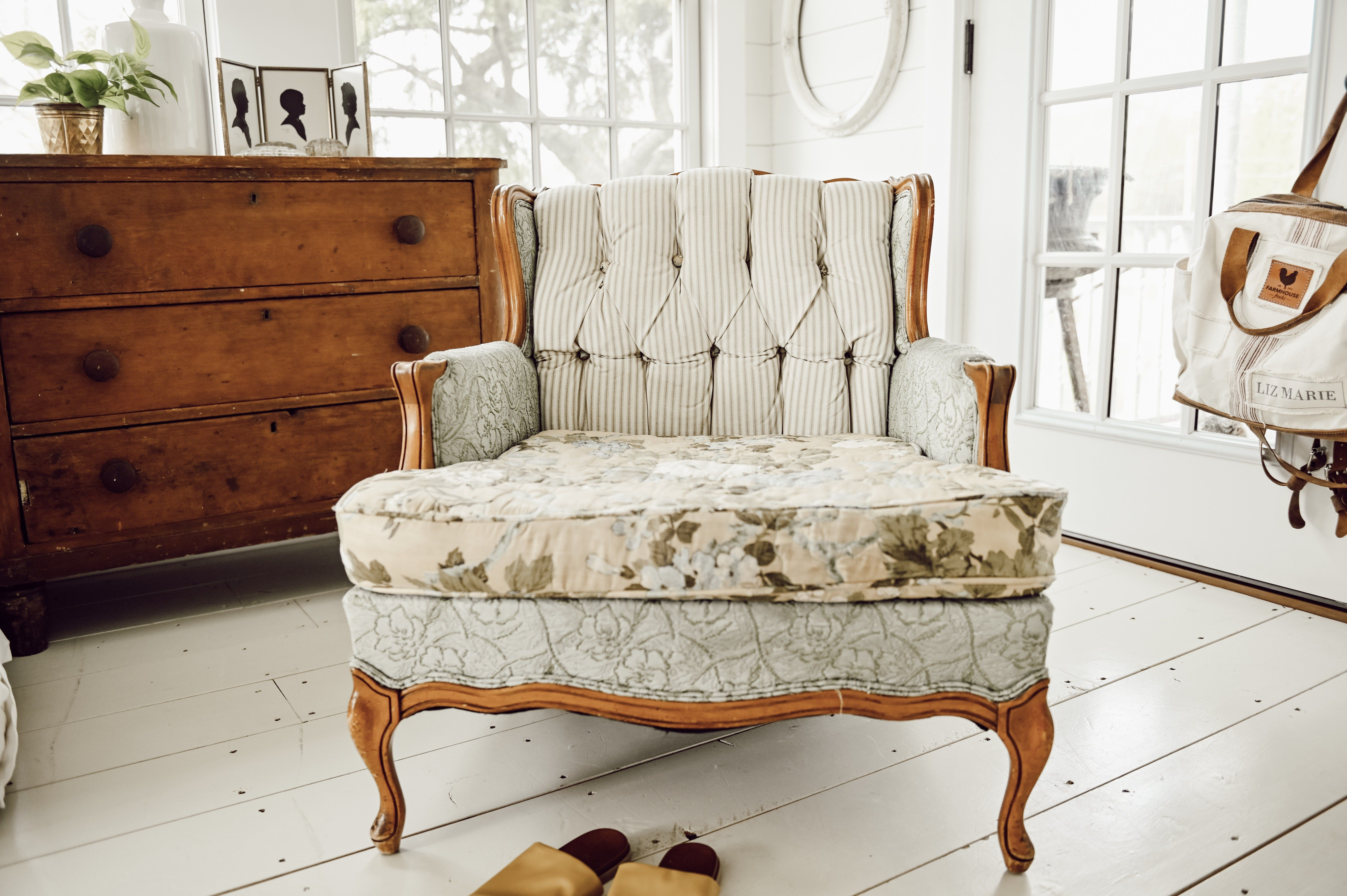 A new cozy vintage chair vintage chairs chair home