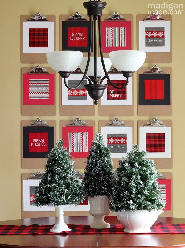 Superbe DIY Flocked Mini Topiary Trees ~ Madigan Made { Simple DIY Ideas } · Diy Christmas  DecorationsChristmas ...