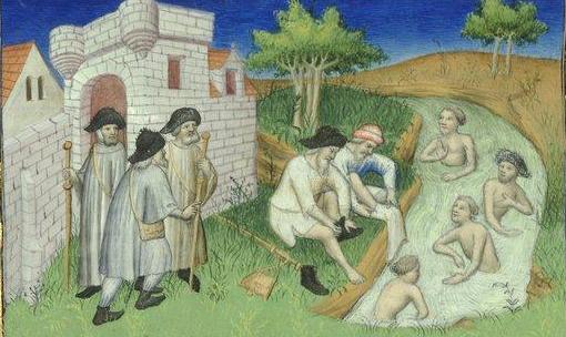 L'hygiène au Moyen Age, tous au bain ! Le savon qui fait la peau douce - Raconte-moi l'Histoire   Moyen age, Art médiéval, Age