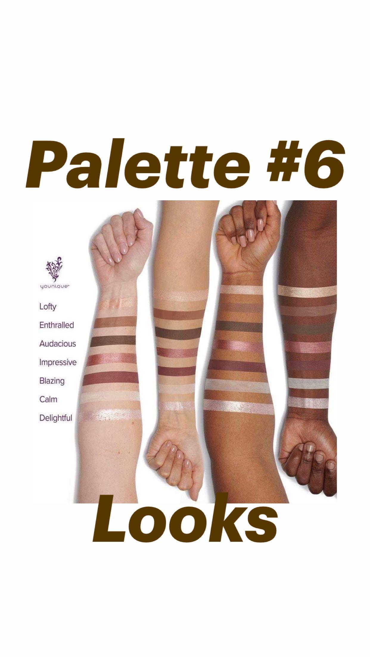 Palette #6    Looks