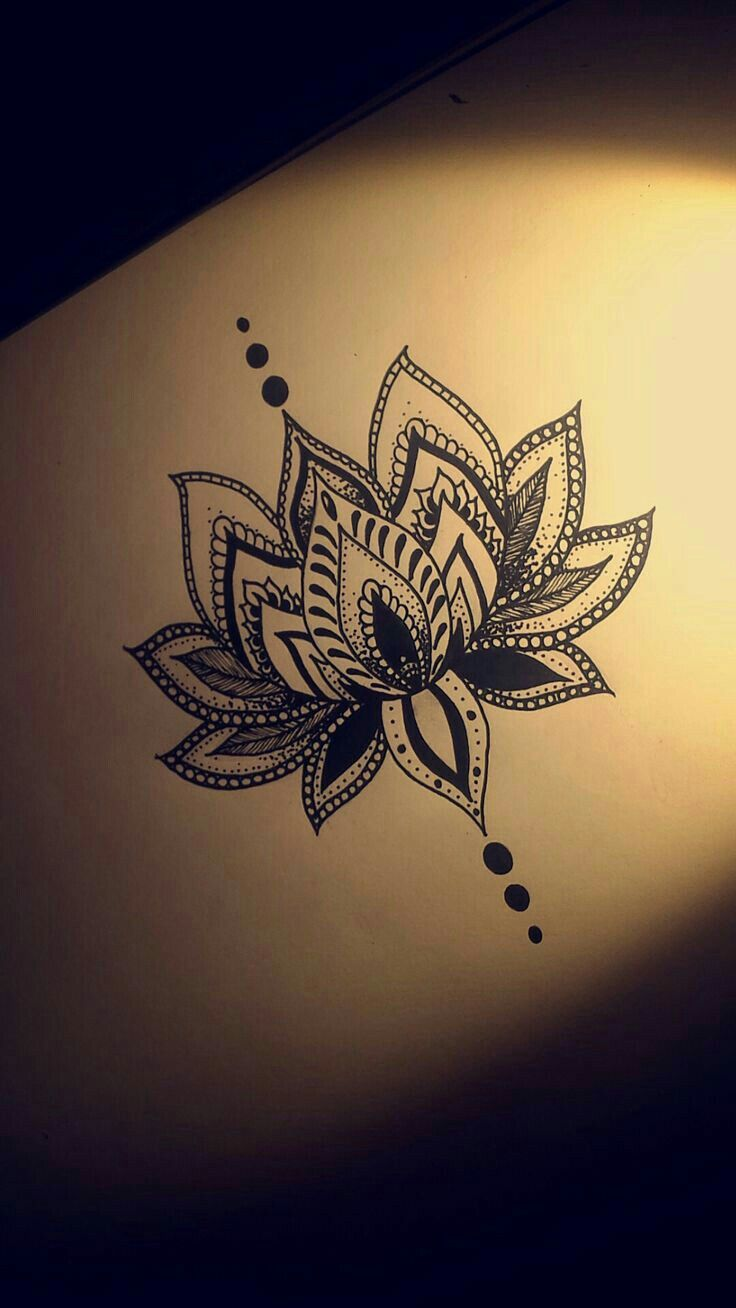 Pin by brooke taylor on inked pinterest tattoo tatting and tatoos lotus flower tattoo design shape only izmirmasajfo Image collections