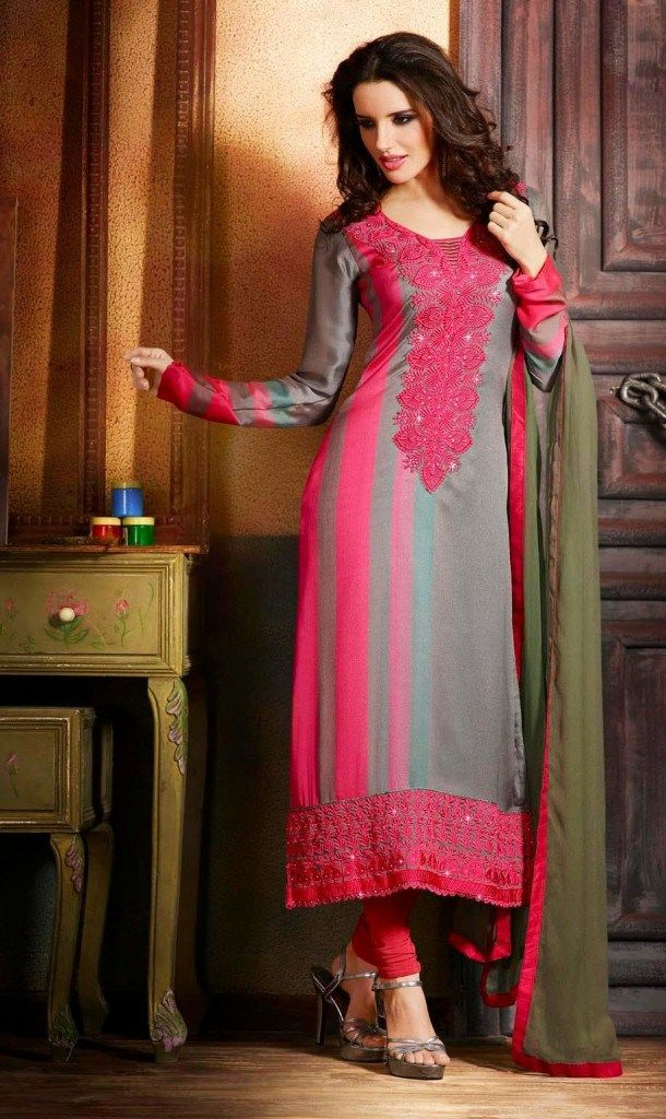 Download Images Of Different Color Combinations Shalwar Kameez Suits
