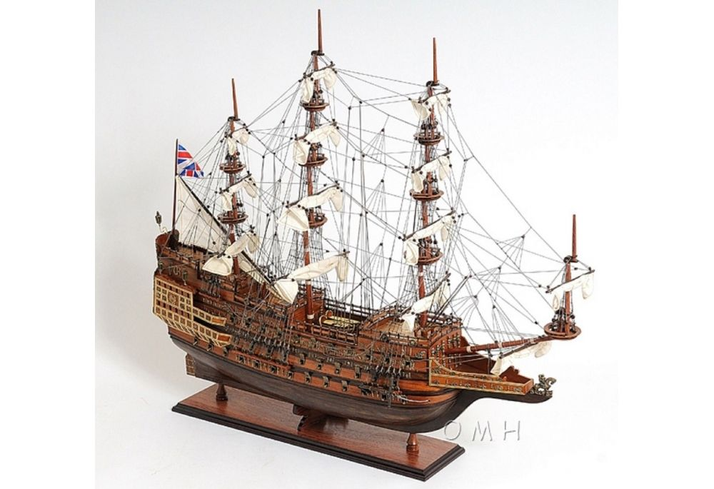 1600 S Sovereign Of The Seas Scaled Large Tall Model Ship Model Ships Sovereign Sailing Ships