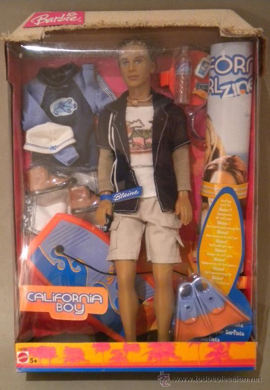 muÑeco ken california boy, el novio de barbie | ellos tambiÉn son