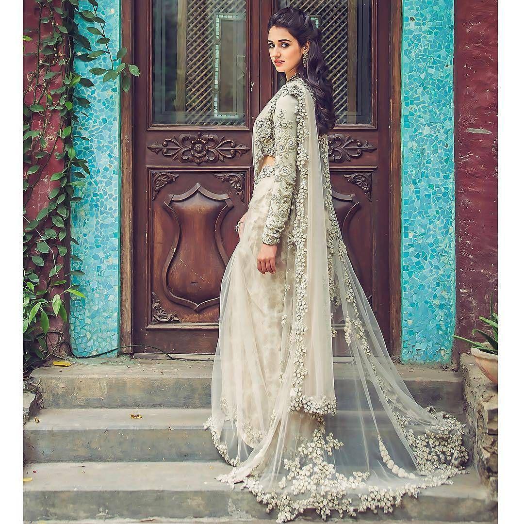 White Wedding Dress Mumbai: Beautiful Sabyasachi Saree Collection...#bigindianwedding
