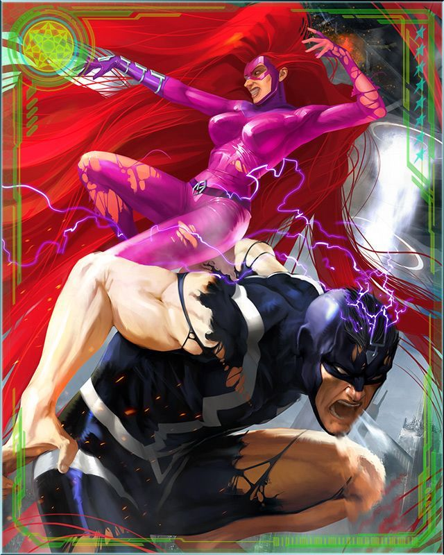 RPGOTG - [Royal Couple] Black Bolt & Medusa+