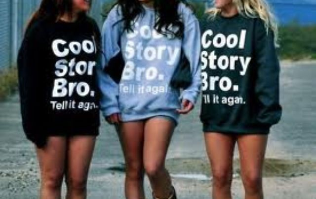 Get Cool Story Bro Tell It Again shirts with my best friend.
