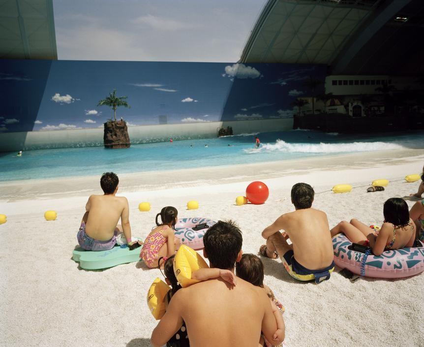Martin Parr Life S A Beach Photographie Photographie Couleur