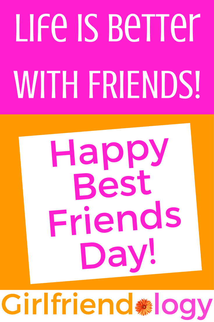Quote For Happy Best Friends Day Celebrating Friendship August