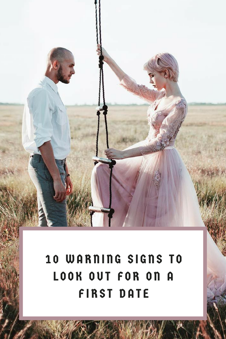 First date warning signs