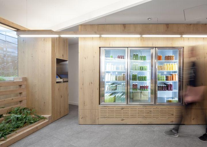 grow op juice bar by kilogram studio toronto canada retail design blog - Interior Design Blogs Canada