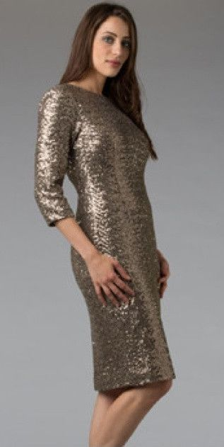 Sequin Dress Knee Length