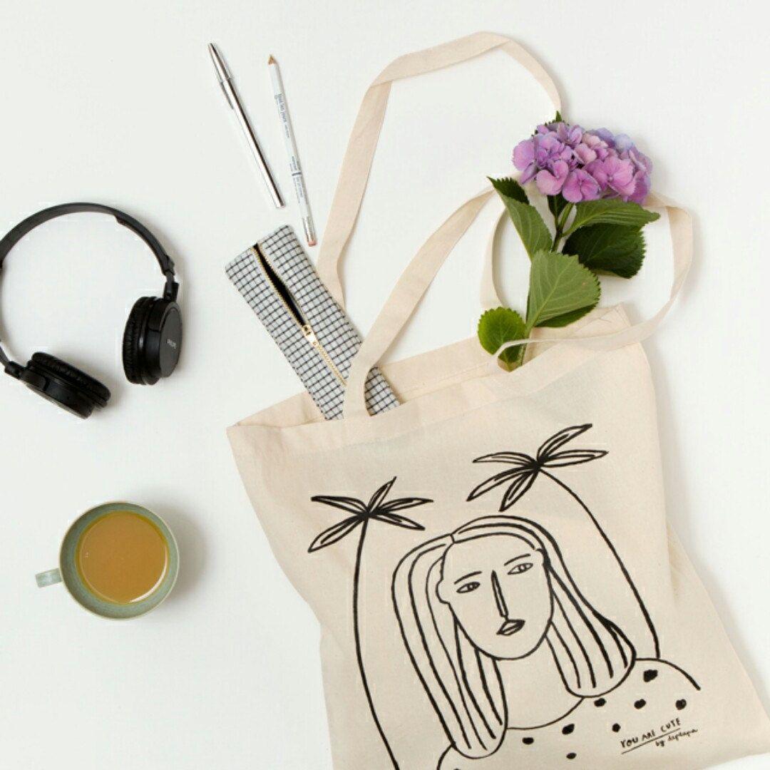 New tote bag.