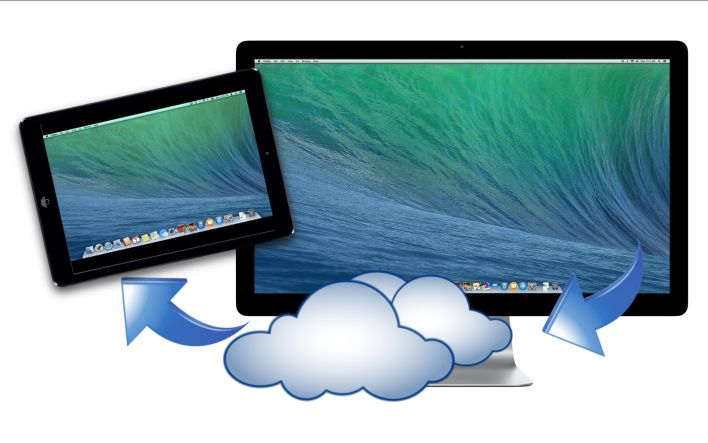 How to access home computer from ipad