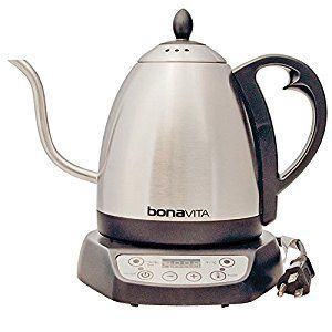 Amazon.com: Bonavita BV382510V Electric Kettle, Gooseneck Variable Temperature, 1.0L: Kitchen & Dining