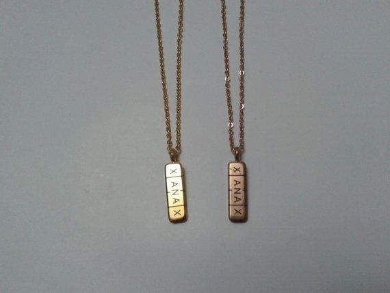 Xanax bar pill necklace 316 l stainless steel version gold or rose xanax bar pill necklace 316 l stainless steel version gold or rose gold color mozeypictures Image collections