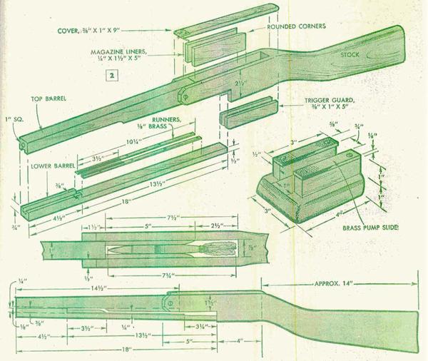 Vintage DIY Crossbow Tutorial from 1951 | Wood working