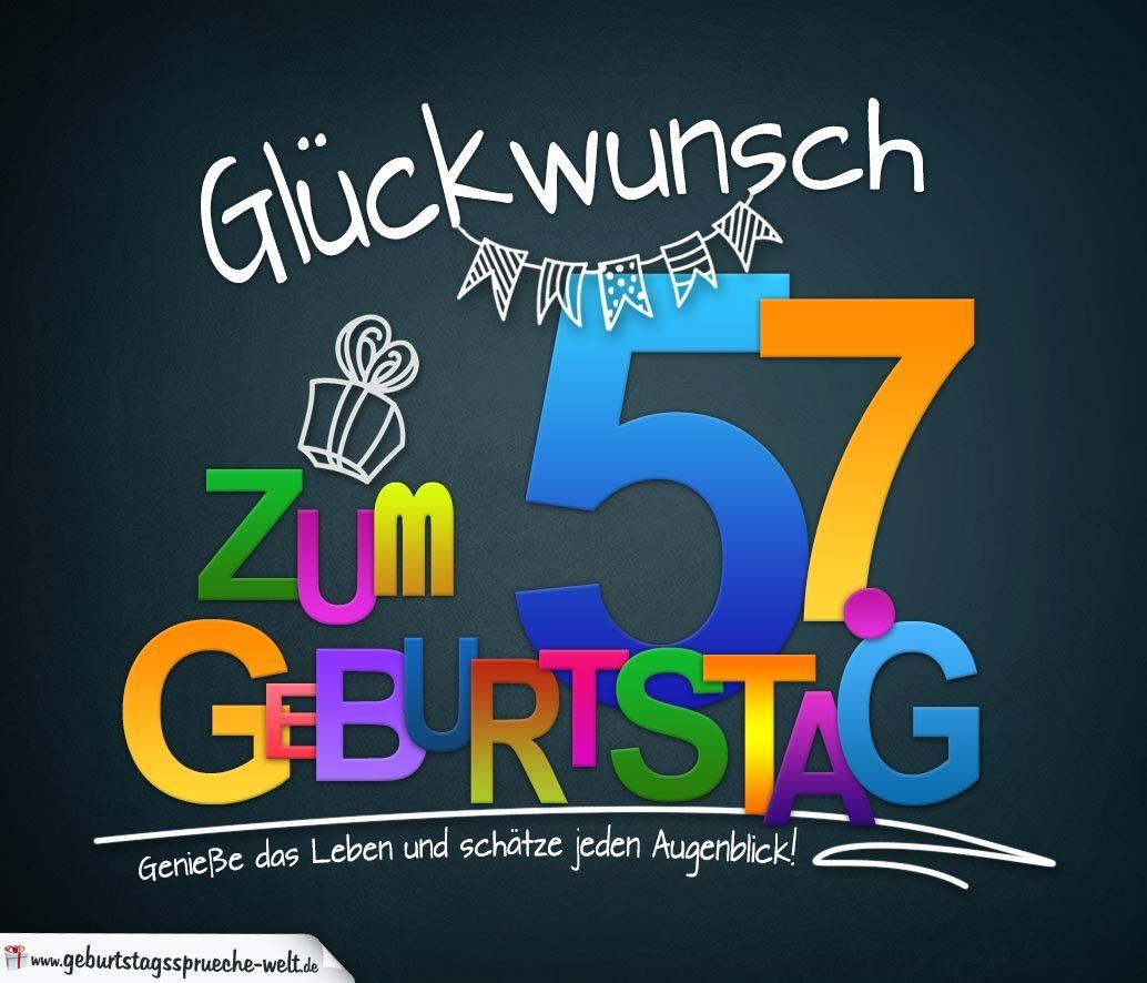 Geburtstagsbilder 58 Jahre Best Of Spruche Zum 57 Geburtstag Karte