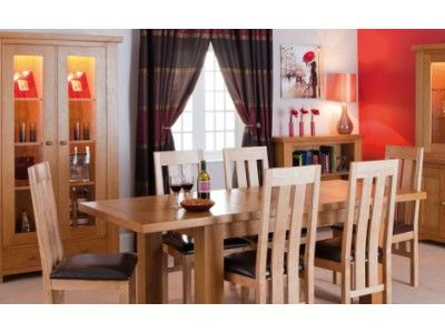 Morris Winchester Large Extending Dining Set ( Large Extending Dining Table  + 4 Or 6 Slat