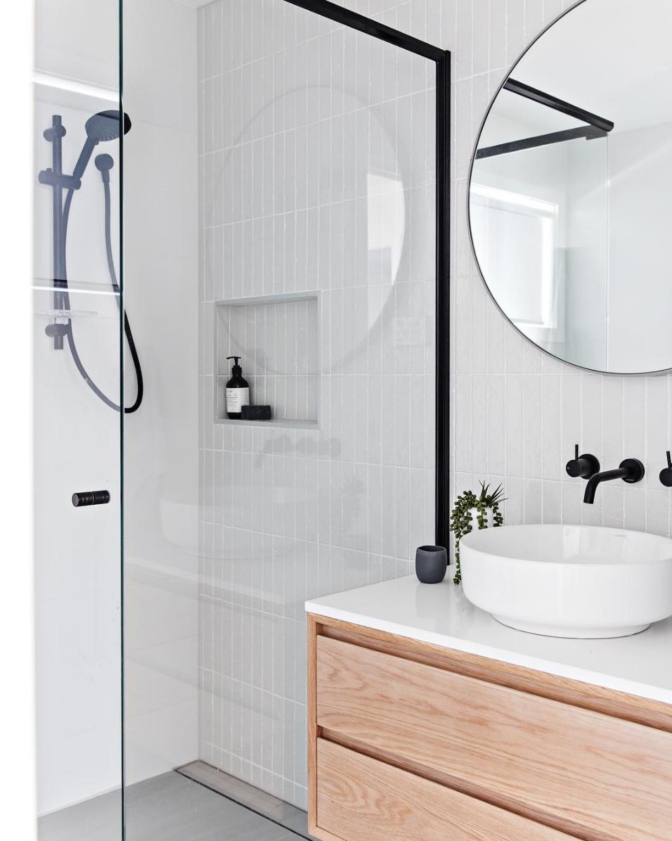 Photo of White Bathroom Tiles