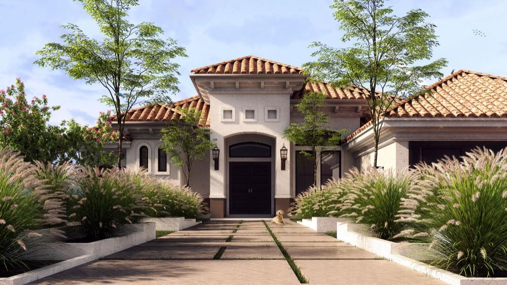 Cgarchitect Professional 3d Architectural Visualization User Community Spanish Mediterranean House