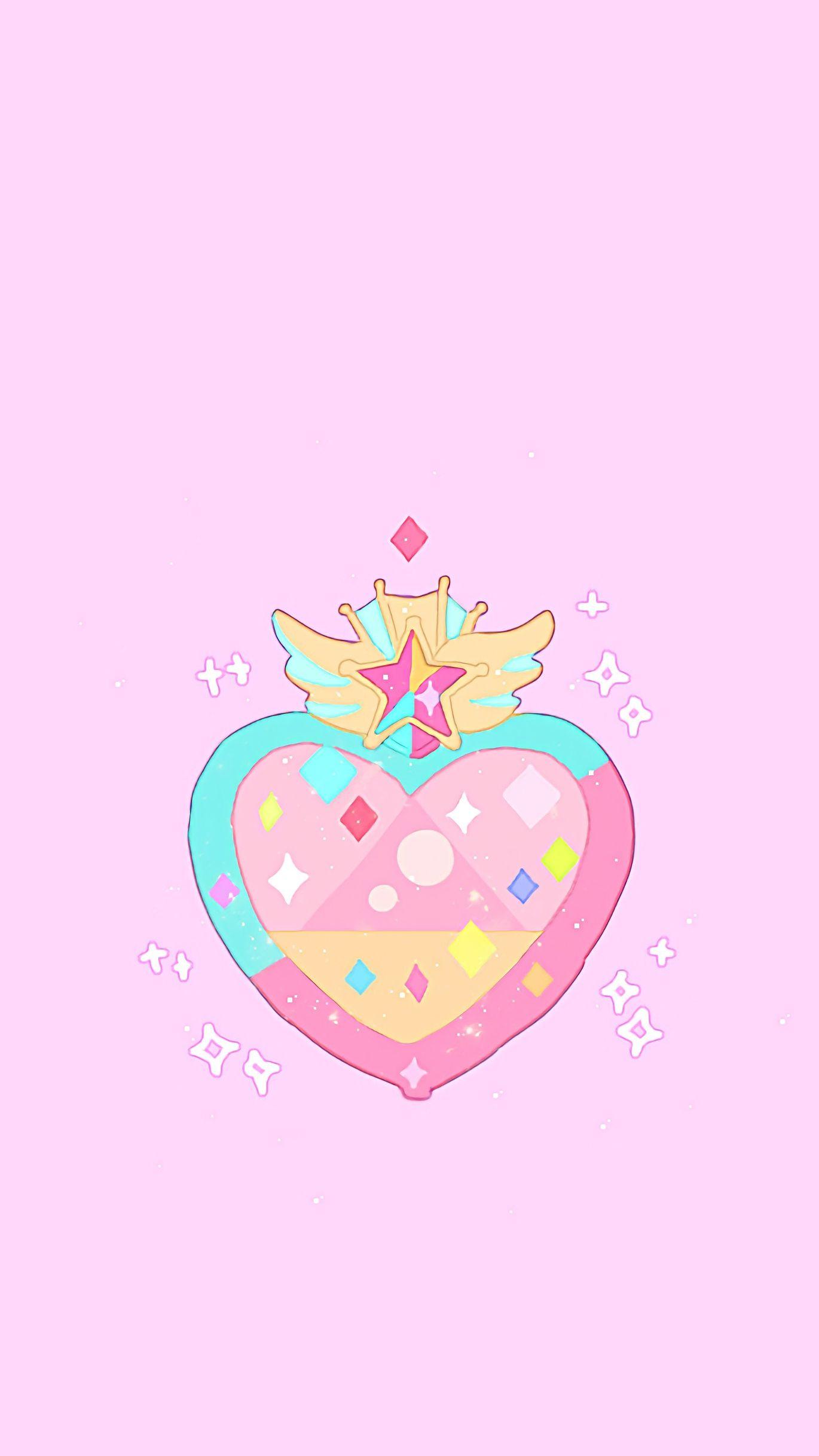 Sailor Moon Heart Sailor Moon Wallpaper Sailor Moon Aesthetic Sailor Moon