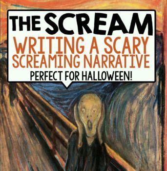 HALLOWEEN WRITING: THE SCREAM BY EDVARD MUNCH | Teaching