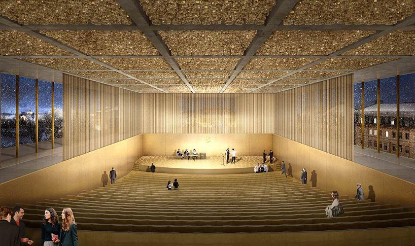 David Chipperfield Nobel Center Headquarters Stockholm Nobelhuset Designboom