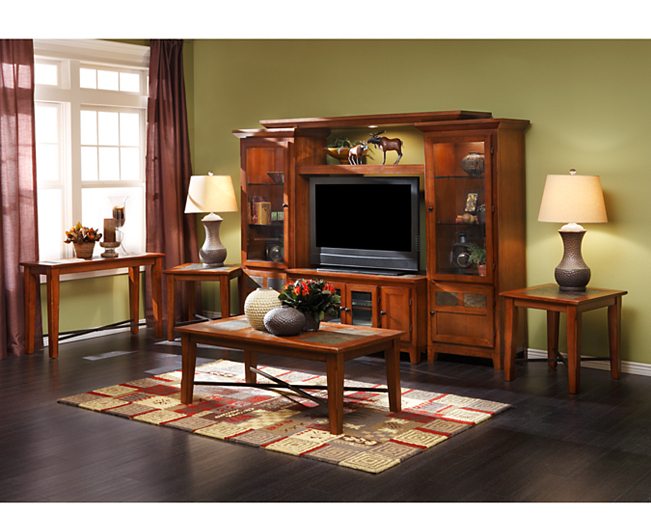 Aspen End Tables Coffee Table And Media Center Slate Furniture Row Rowe Furniture Furniture New Furniture