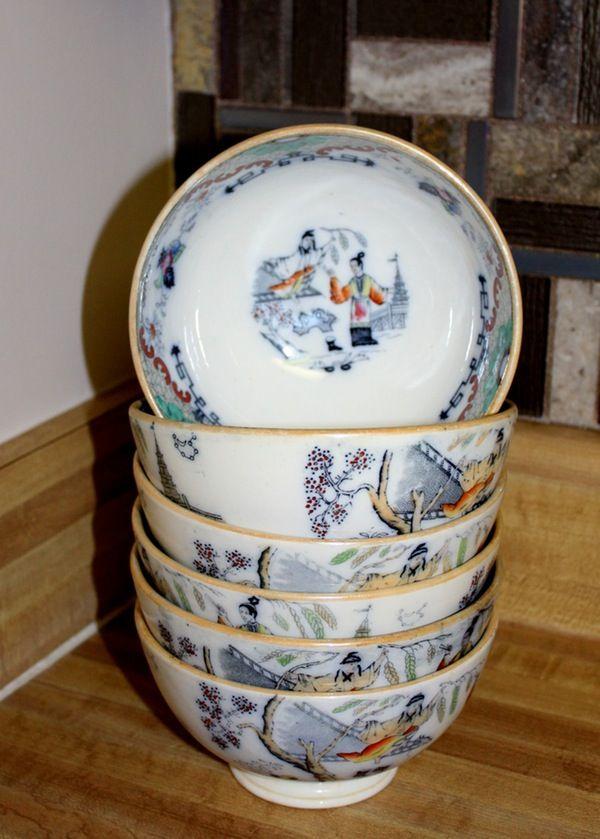 Vintage China Tableware Grouping Vintage China Tableware Vintage