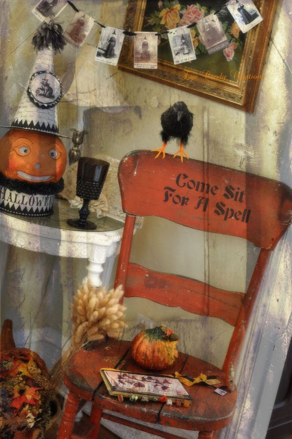 Halloween Decor Decorating at SweetEyeCandy Halloween Decorating - ideas halloween decorations