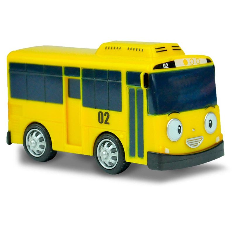 Empat Warna Model Skala Miniatur Bus Tayo Bus Kecil Mini Plastik Oyuncak Tayo Bus Tayo Bayi Untuk Anak Anak Hadiah Natal