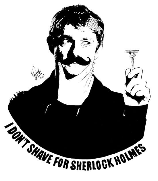 Now THAT'S a moustache you can keep, John. It's impressive.